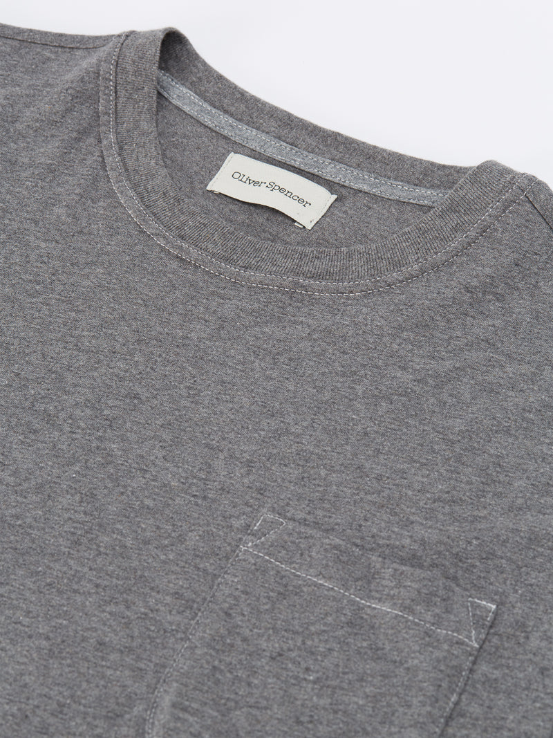 Box T-Shirt Warren Dark Grey
