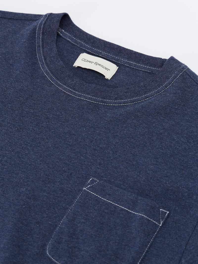 Box T-Shirt Warren Navy