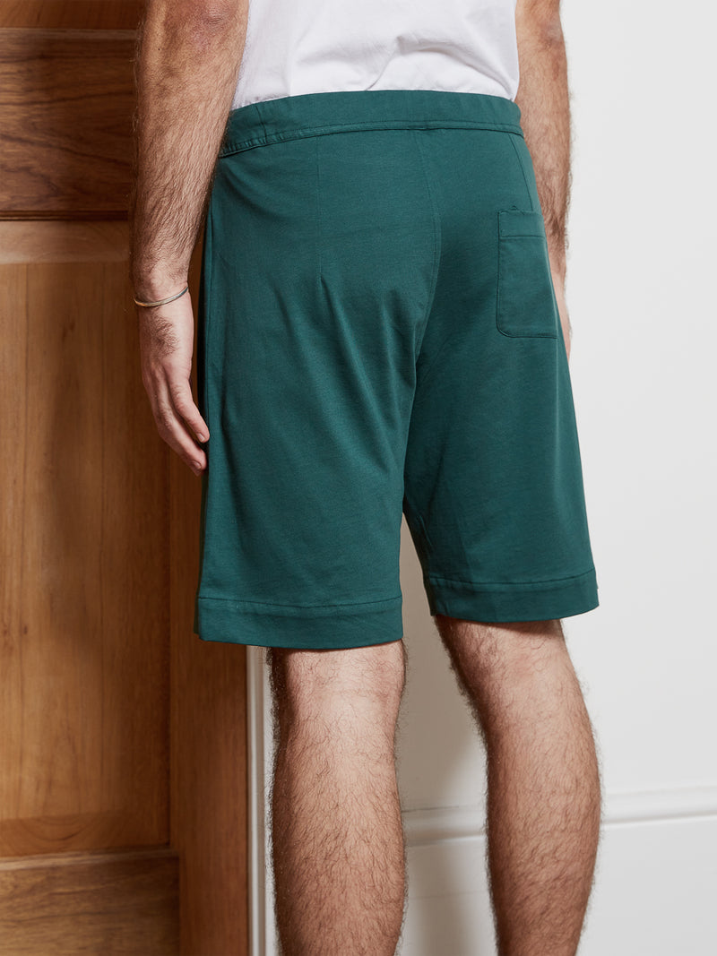 Comfort Jersey Shorts York Teal Green