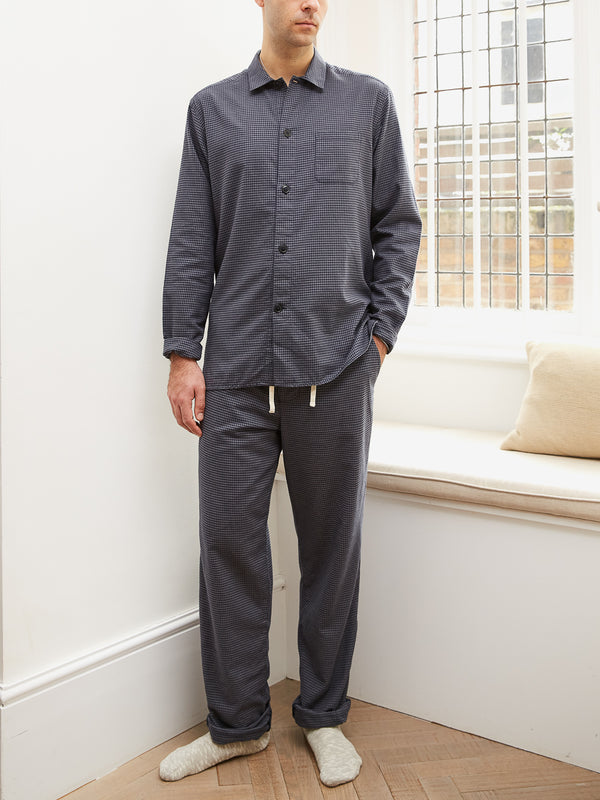 Pyjama Shirt Percy Grey