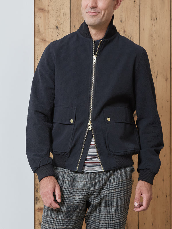 Bermondsey Bomber Jacket Tamworth Midnight