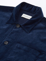 Hockney Shirt Jacket Penton Cord Navy