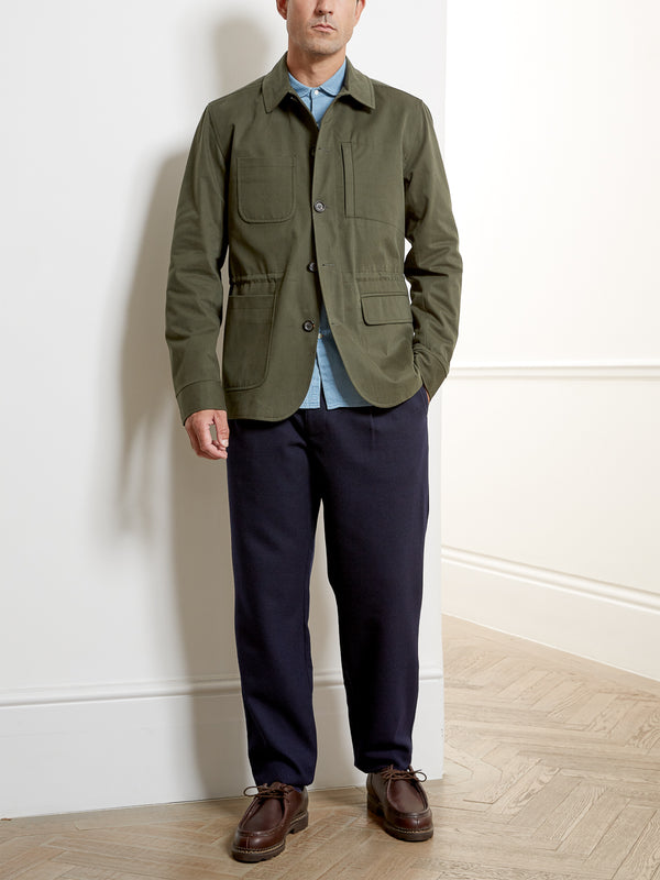 Cromwell Jacket Eden Green