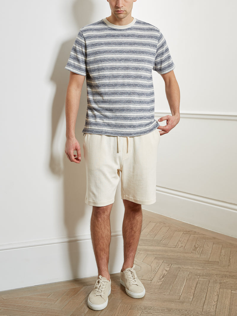 Weston Jersey Shorts Arliss Ecru