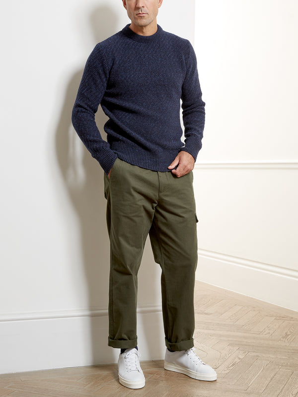 Blenheim Jumper Hereford Navy Blue