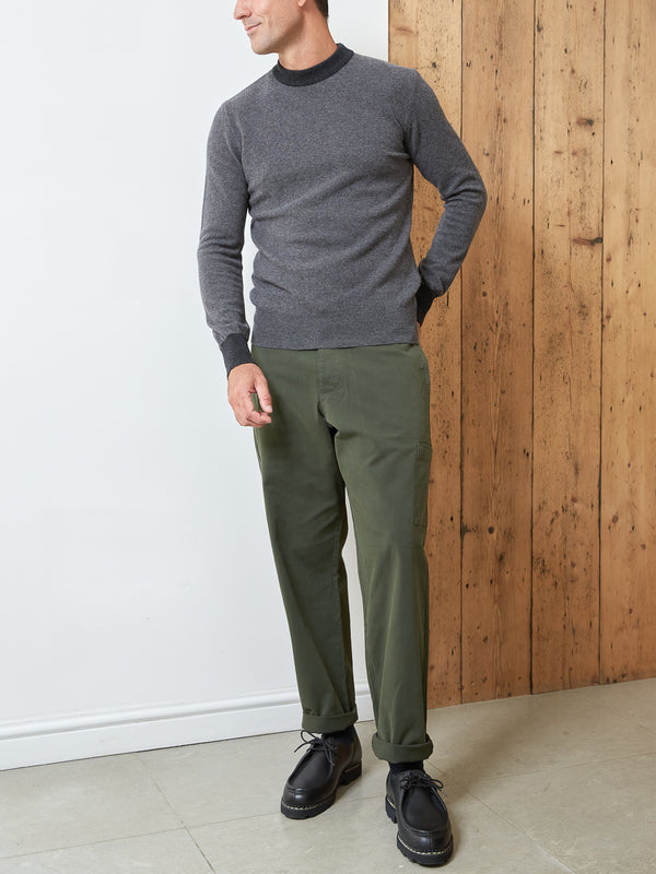 Blenheim Jumper Alves Dark Grey