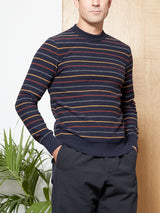 Blenheim Jumper Sierra Navy Multi