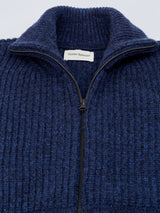 Zip Through Cardigan Henham Navy/Blue