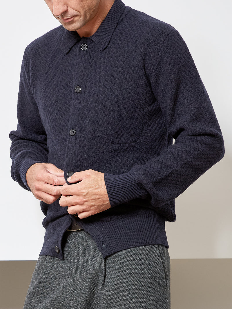 Britten Cardigan Fairway Navy