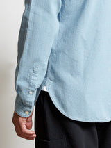 Grandad Shirt Kildale Indigo Light
