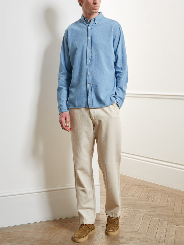 Brook Shirt Kildale Indigo Light