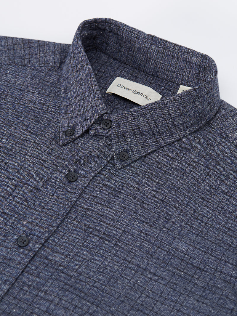 Brook Shirt Lomand Blue