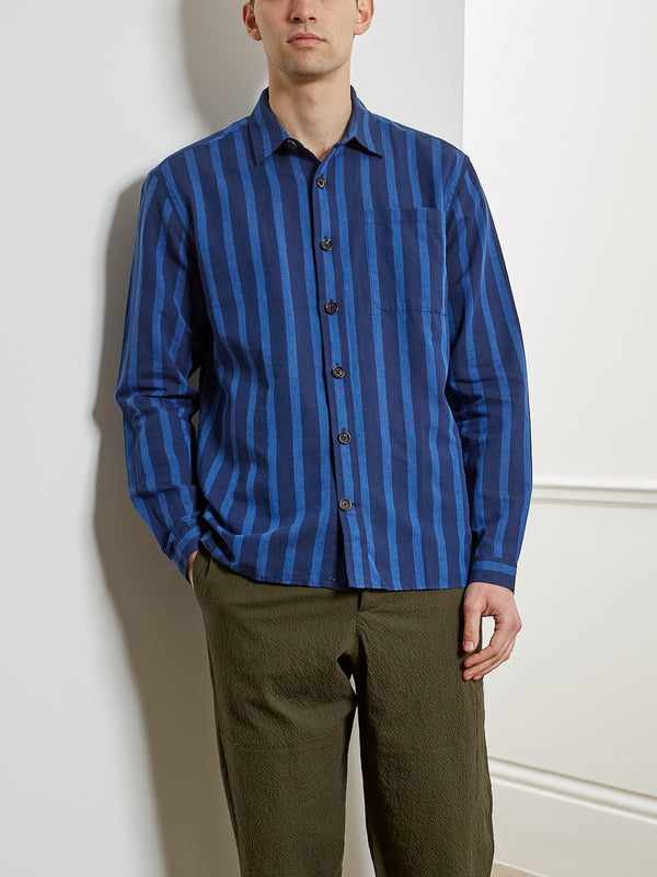 Ellington Overshirt Buckden Blue
