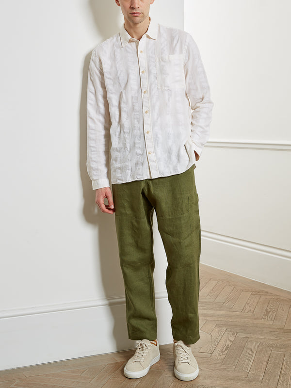 Ellington Overshirt Yardley Cream