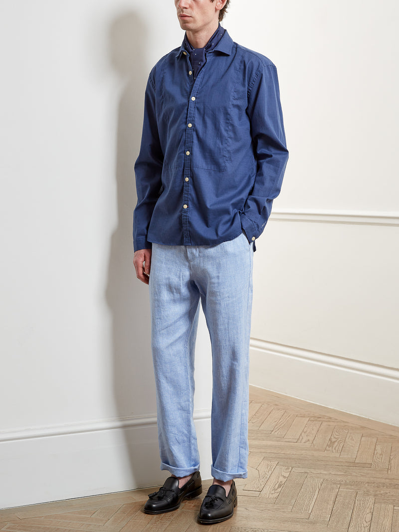 Corrigan Shirt Harefield Blue