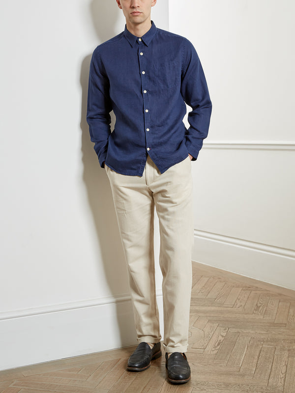 New York Special Shirt Bridford Navy