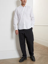 Clerkenwell Tab Shirt Abbott White