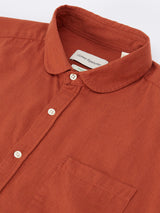 Eton Collar Shirt Cooper Burnt Orange