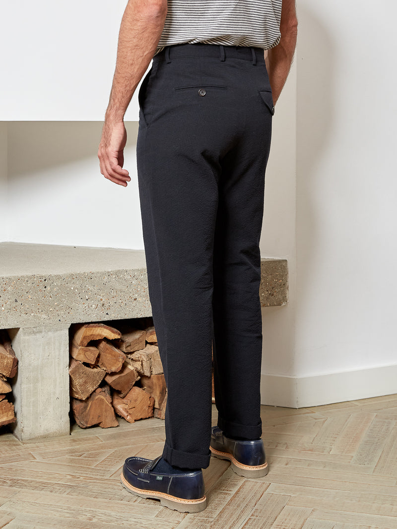 Fishtail Trousers Tamworth Midnight