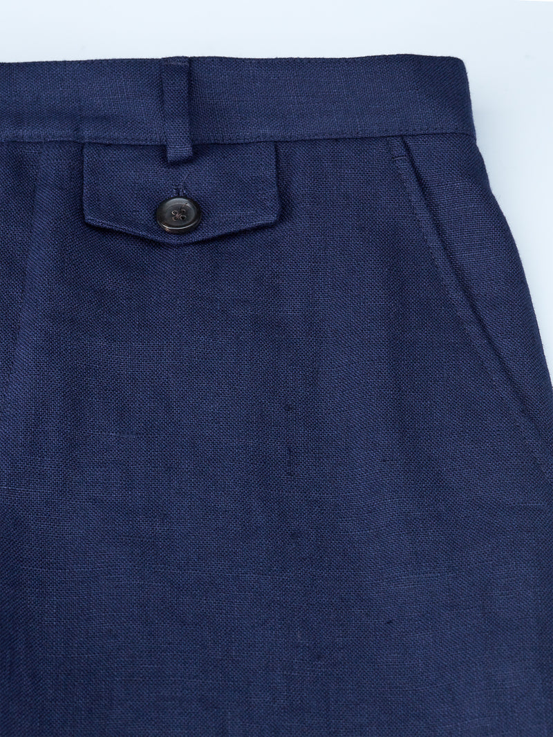 Fishtail Trousers Evering Navy