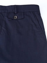 Fishtail Trousers Sandwell Navy