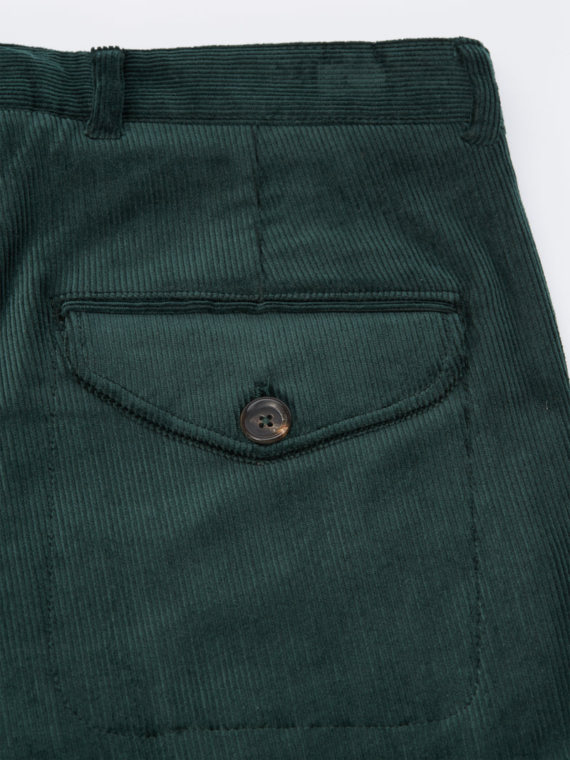 Fishtail Trousers Penton Cord Racing Green