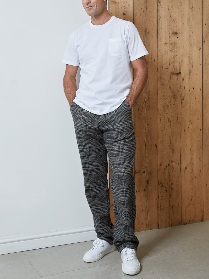 Drawstring Trousers Lawley Charcoal