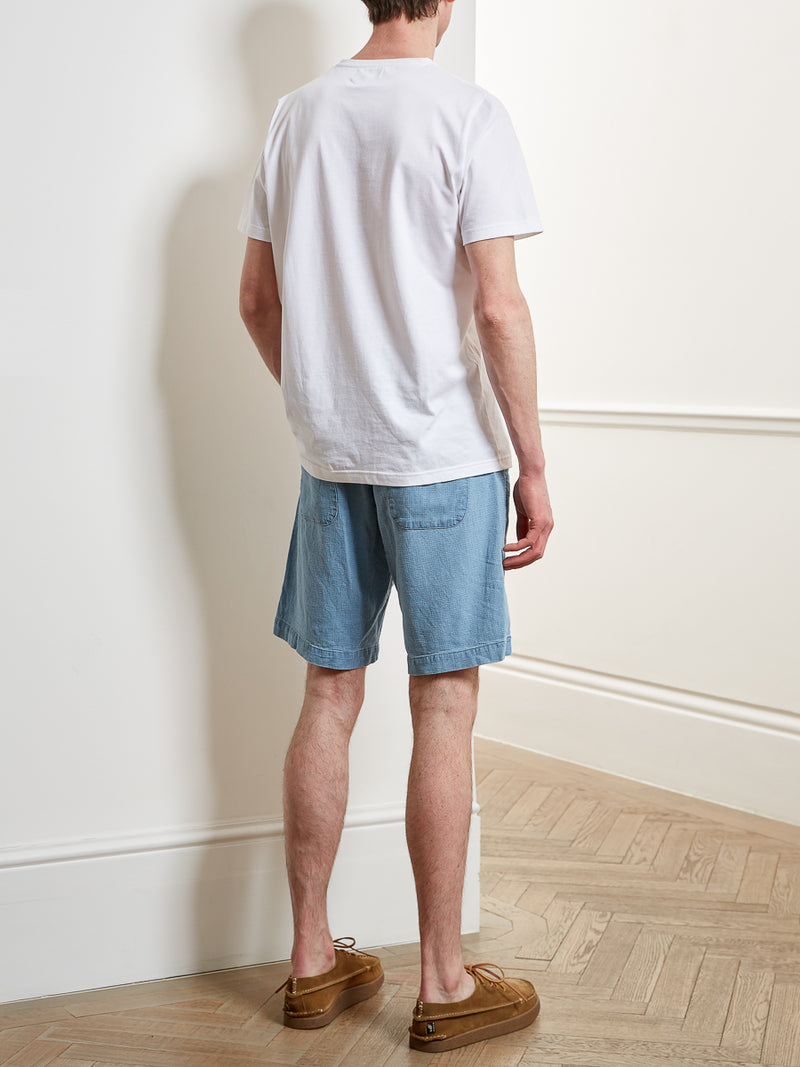 Drawstring Short Kildale Indigo Light