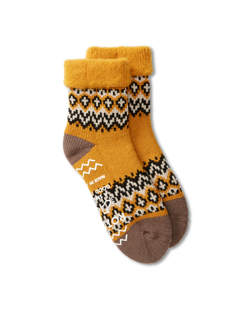 Ro To To Comfy Room Socks Nordic Yellow
