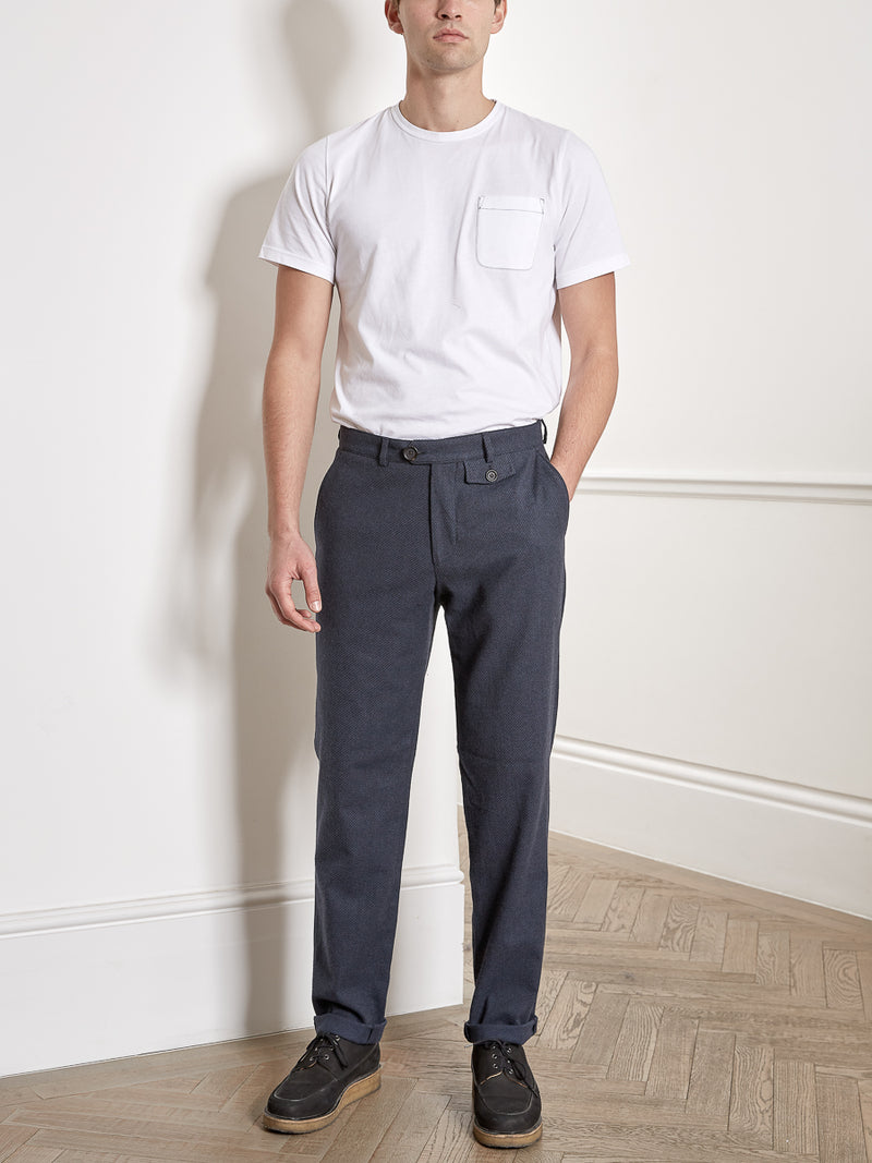 Fishtail Trousers Buttress Charcoal