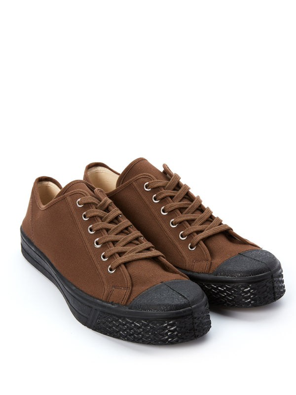 US Rubber Military Low Top Brown