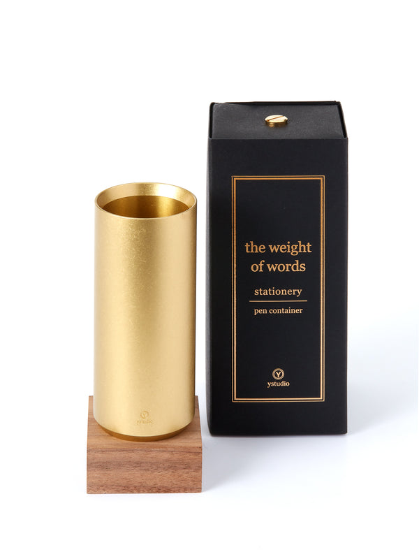 YStudio Pen Container Brass