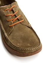 Yogi Finn 2 Moss Green Suede Shoes