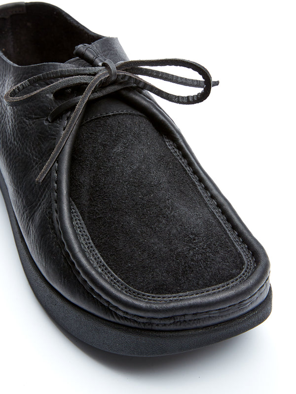 Yogi Willard Black Leather Shoe