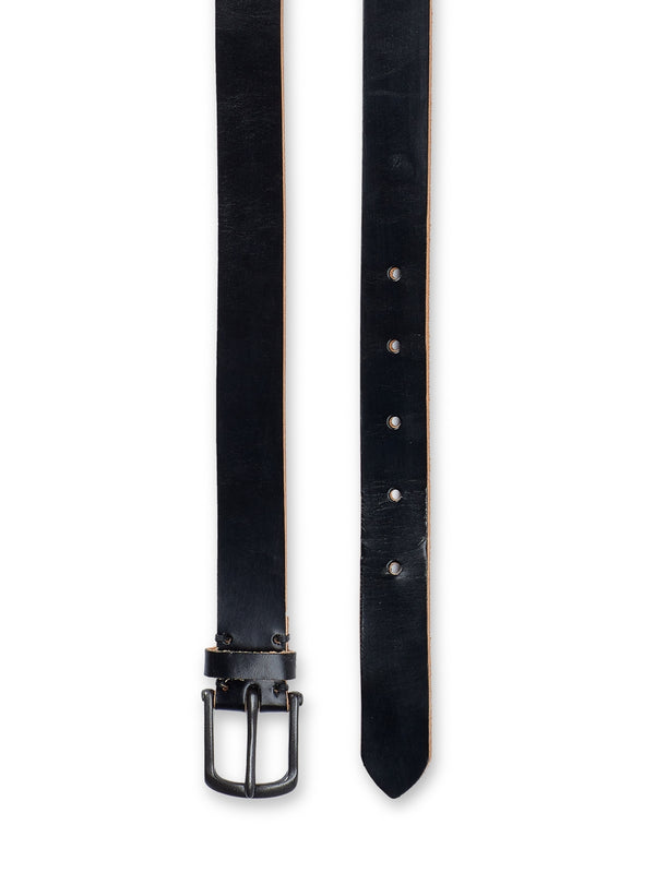 Barrow Belt Bridle Leather Black
