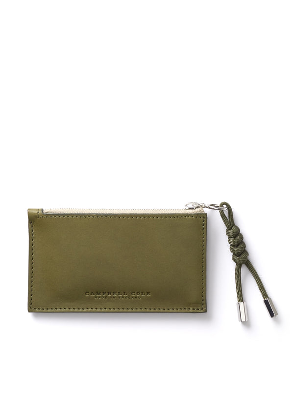 Campbell Cole Simple Coin Pouch Khaki