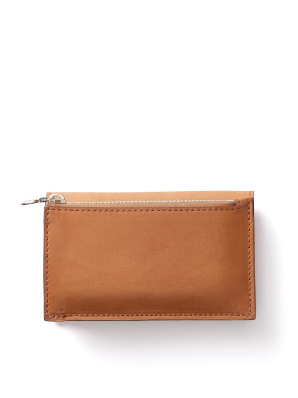 Campbell Cole Tan Leather Simple Slim Wallet