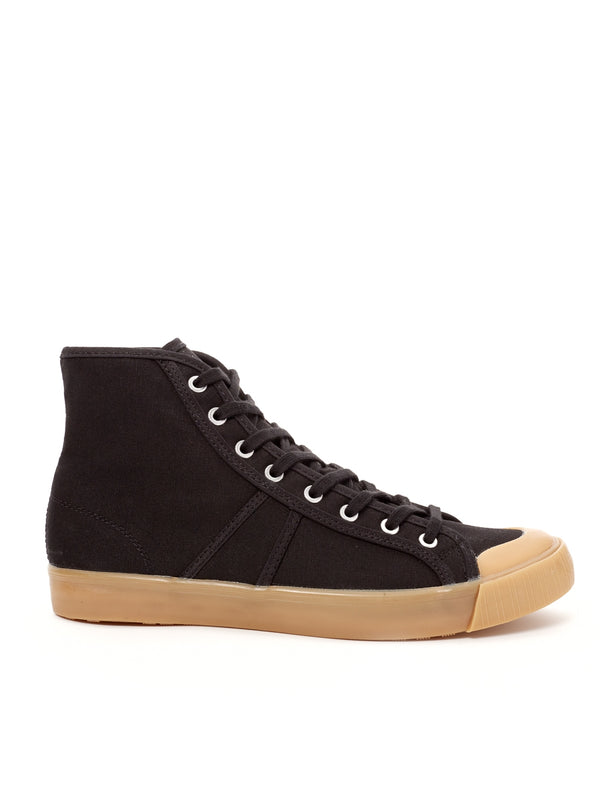 Colchester Rubber Co. Basketball High Top Black