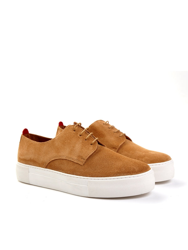 Coventry Shoe Suede Tan