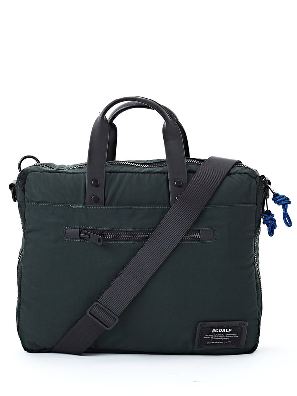 Ecoalf Lion Briefcase Green