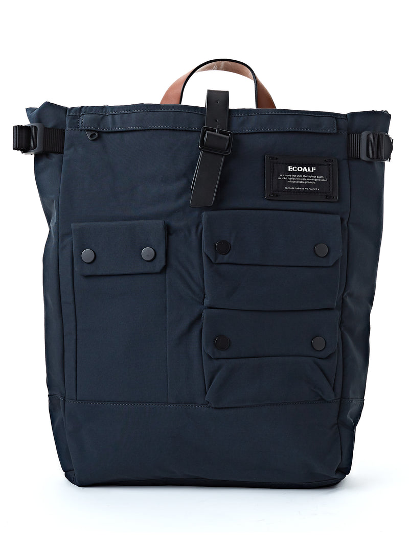 Ecoalf Multipocket Backpack Midnight Navy