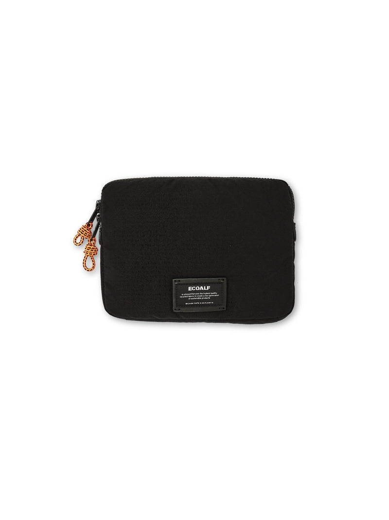 Ecoalf Double Zipper Dopp Kit Black