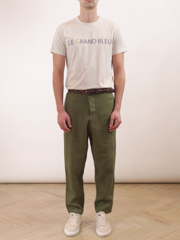 Judo Trousers Evering Green