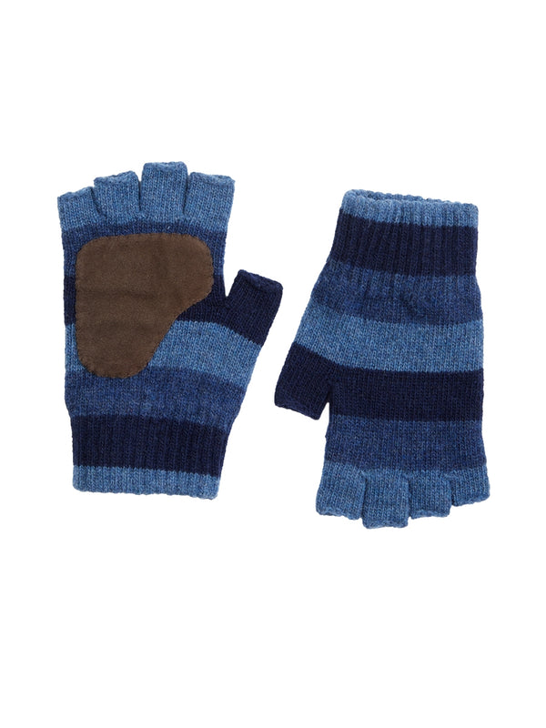 Fingerless Gloves Pembury Navy