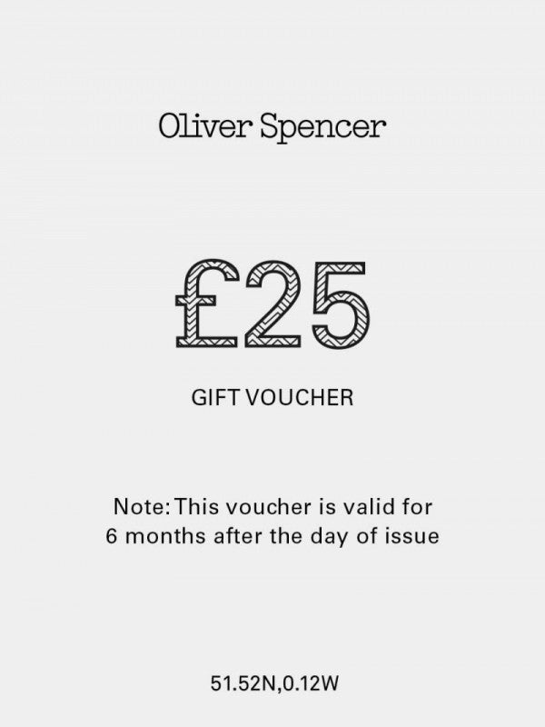 Oliver Spencer gift card