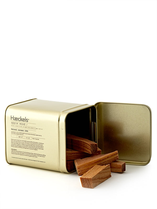 Haeckels Apple Wood Raw Incense