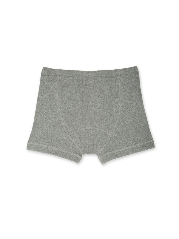 Hemen Biarritz Albar Grey organic cotton boxer brief