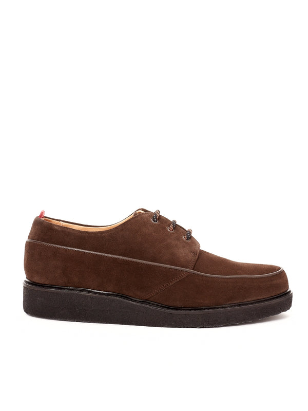 Hoxton Shoe Suede Chocolate