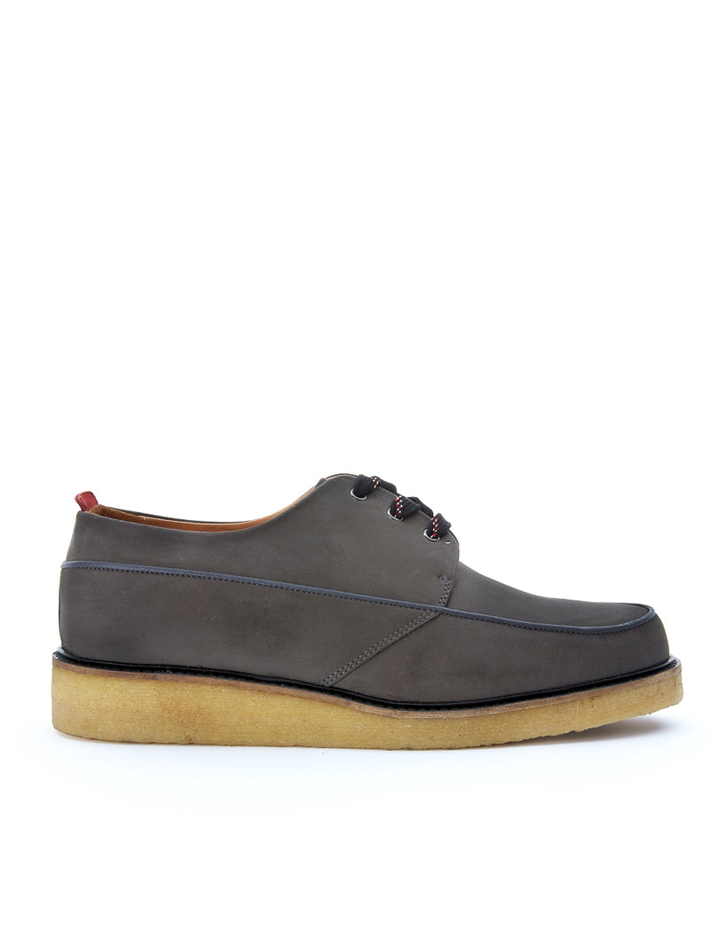 Hoxton Shoe Suede Anthracite