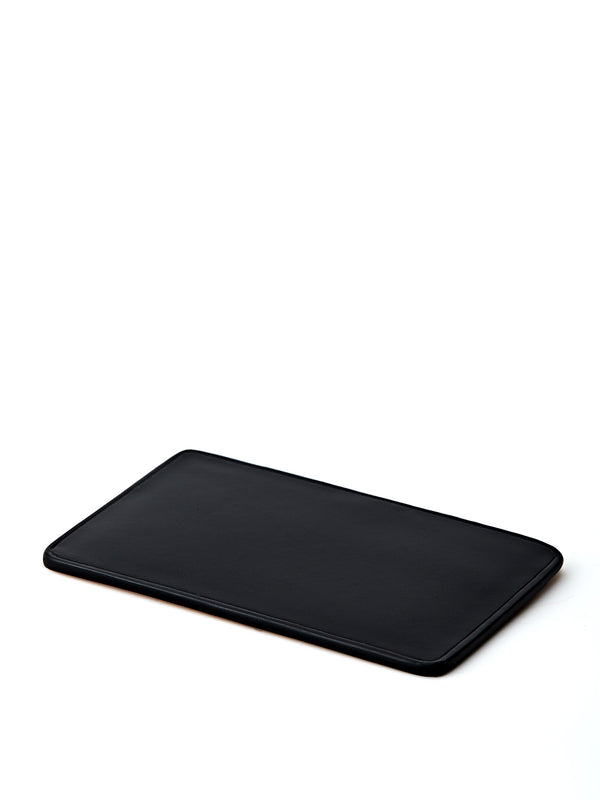 Il Bussetto Black Leather Slimline Card Holder